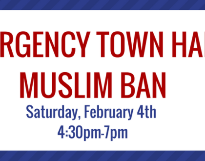 Emergency Town Hall on the Muslim Ban