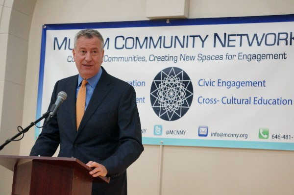 A Message from Mayor Bill De Blasio at MCN's Annual Gala