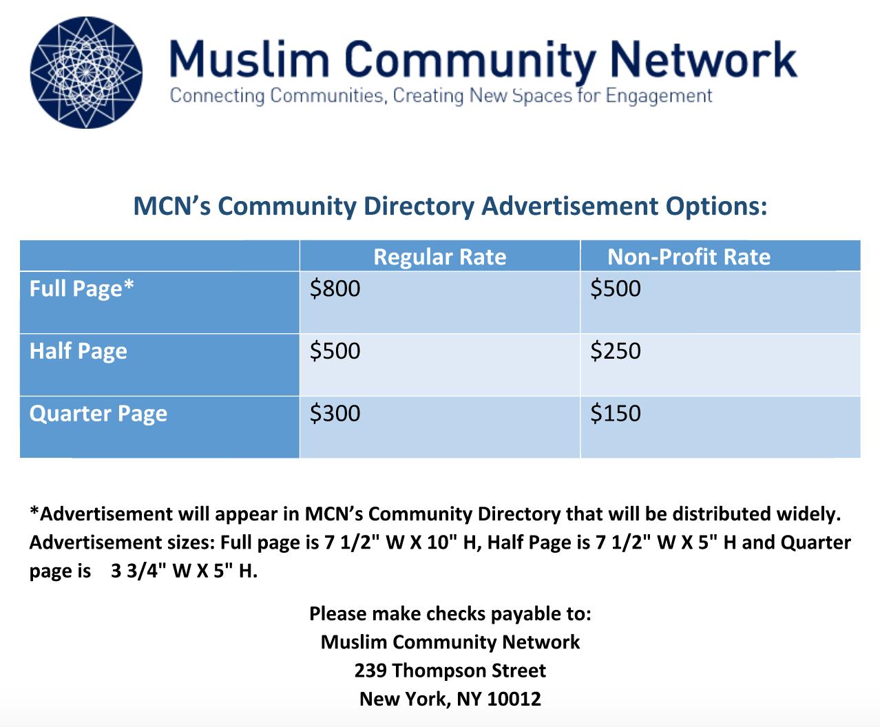 2015 Muslim Community Directory