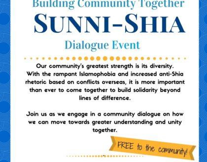 Building Community Together: Beyond Sunni – Shia