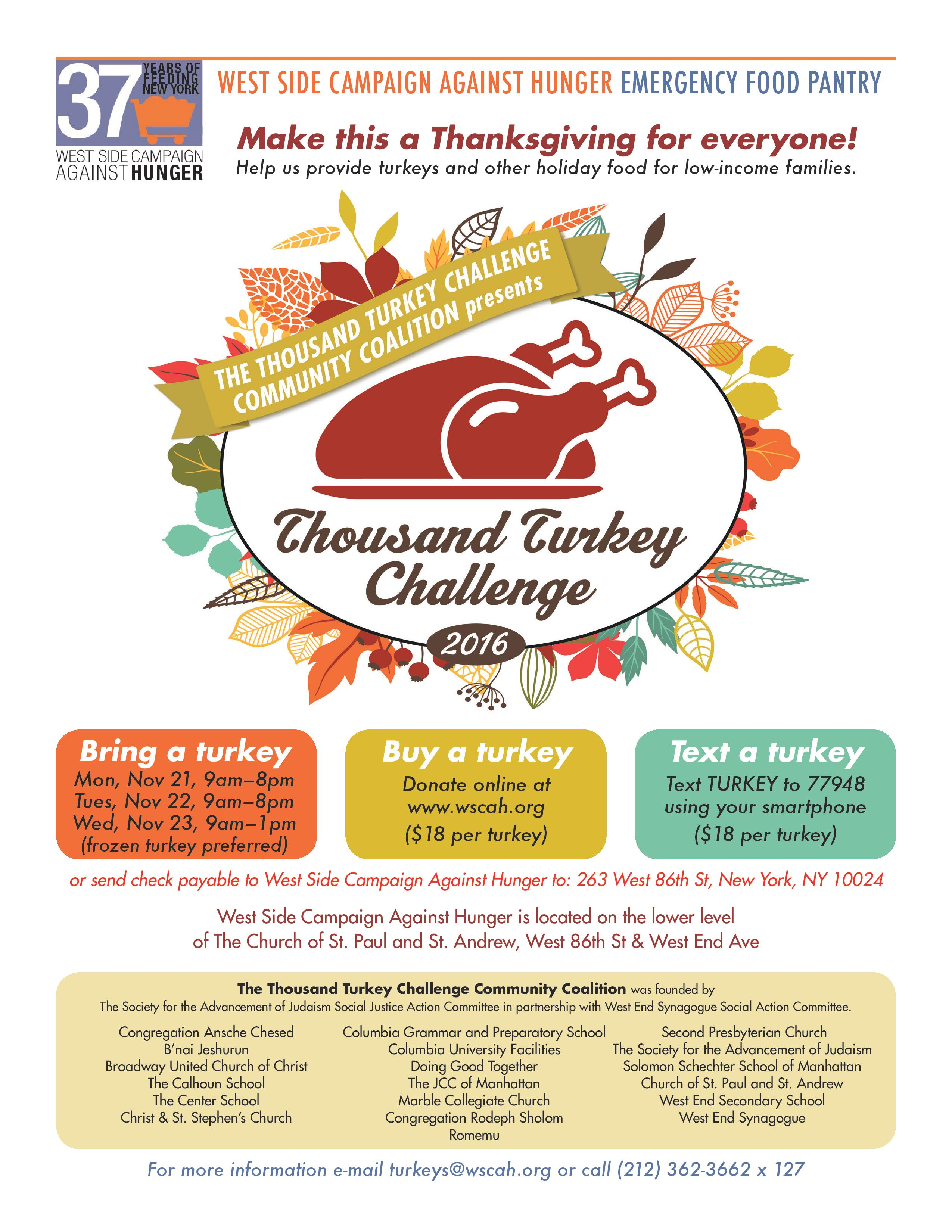 Thousand Turkey Challenge