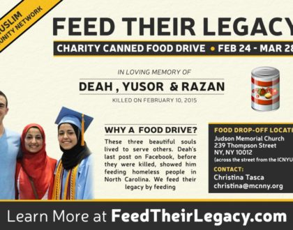 #FeedTheirLegacy Food Drive: 2/13 – 3/28