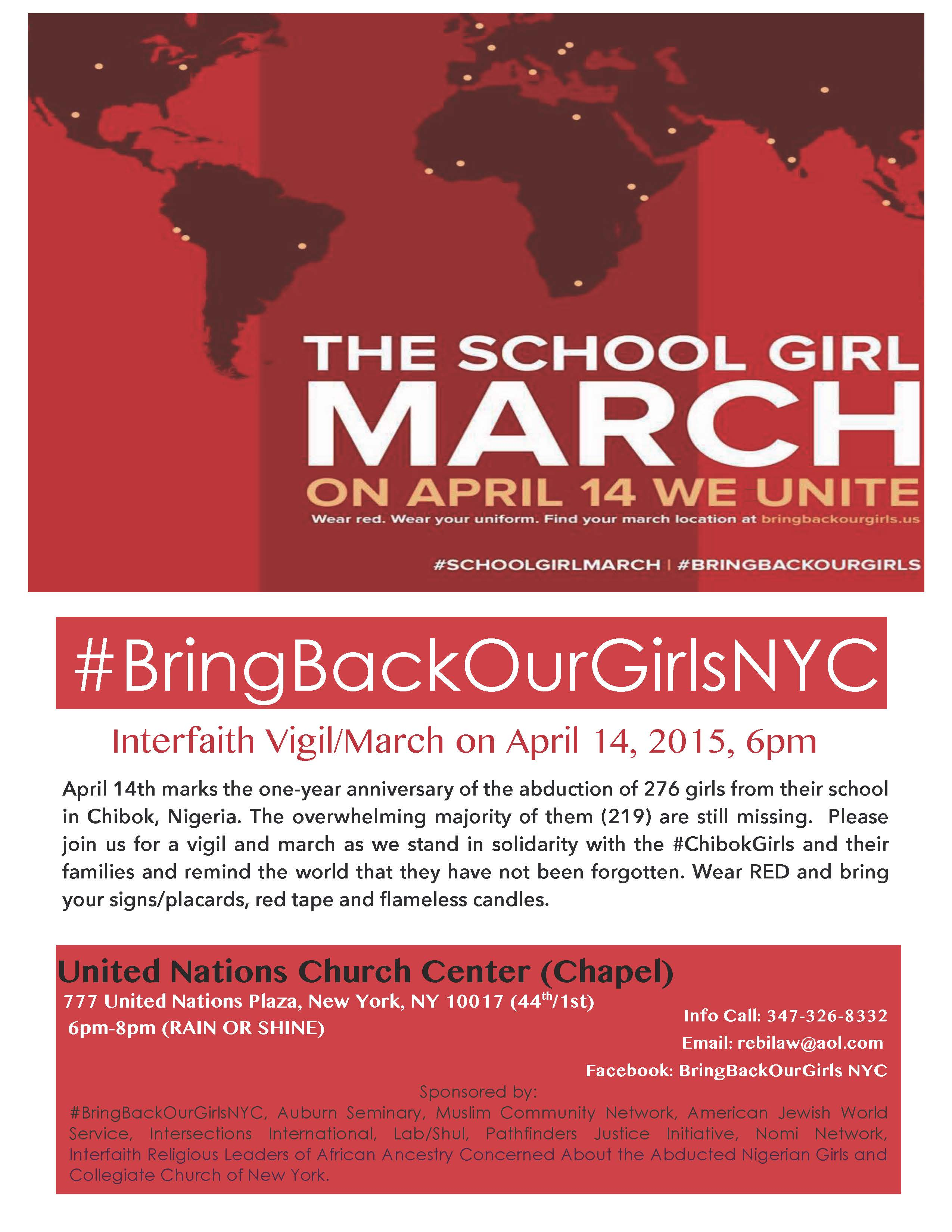 The School Girl March #BringBackOurGirls