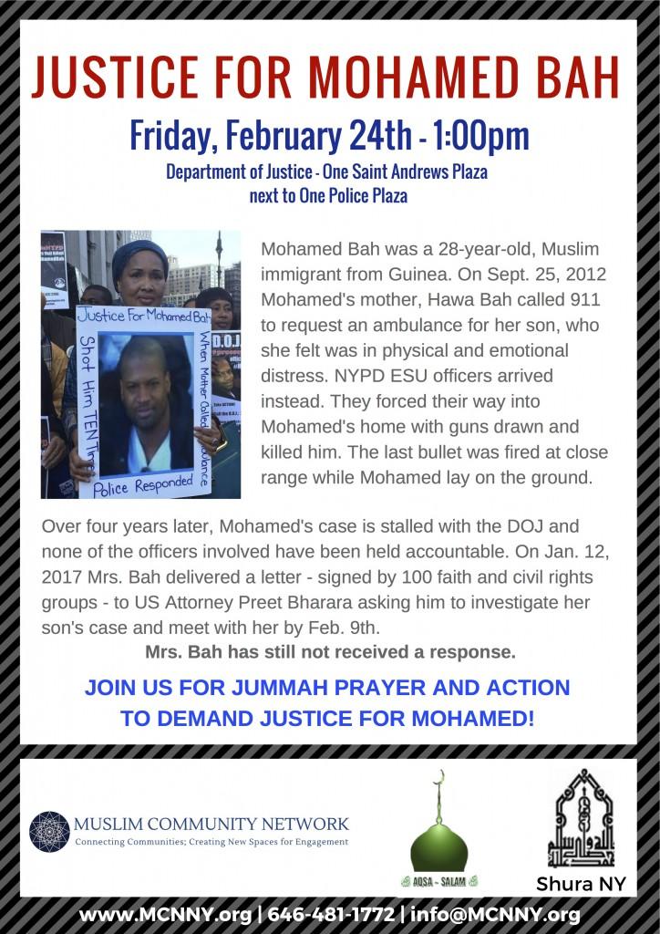 Justice for Mohamed Bah