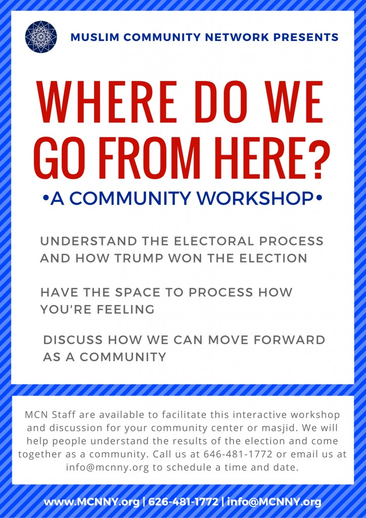 """""""Where Do We Go From Here?"""" Workshop"""