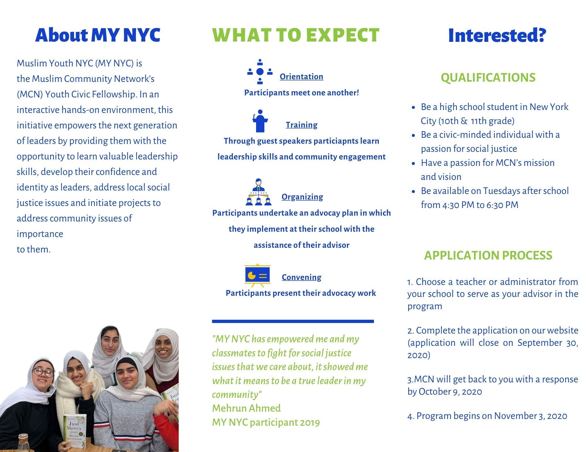 MYNYC Brochure 2020-2021